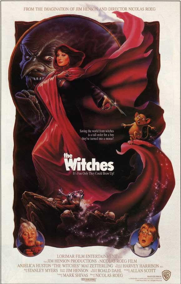 67624 The Witches Anjelica Huston, Mai Zetterling Wall Print Poster CA