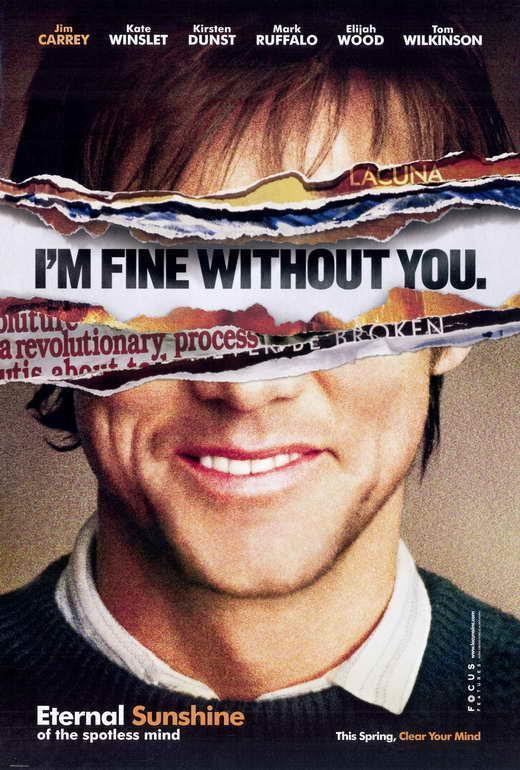 67711 Eternal Sunshine of the Spotless Mind Movie Wall Print Poster CA