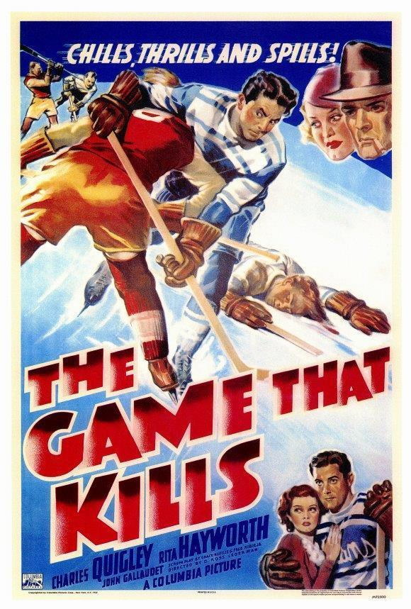68030 The Game that Kills Movie Rita Hayworth Wall Print Poster CA