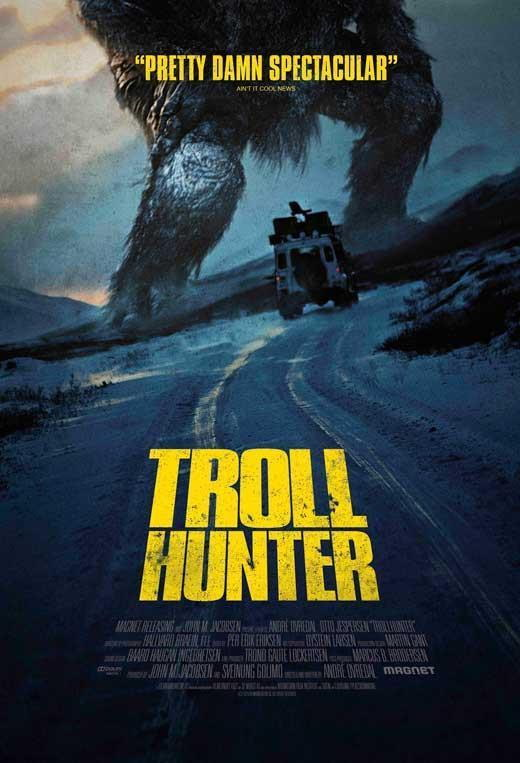 70882 The Troll Hunter Movie Otto Jespersen FRAMED CANVAS PRINT Toile