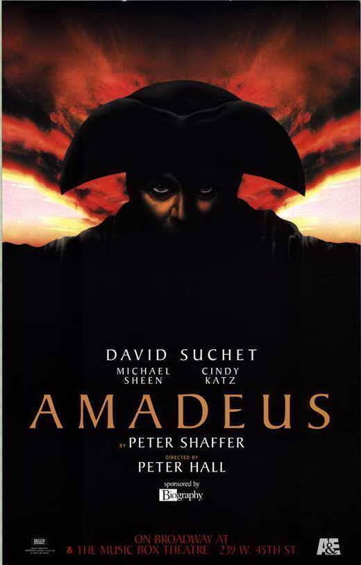 71420 Amadeus Broadway Movie Wall Print Poster AU