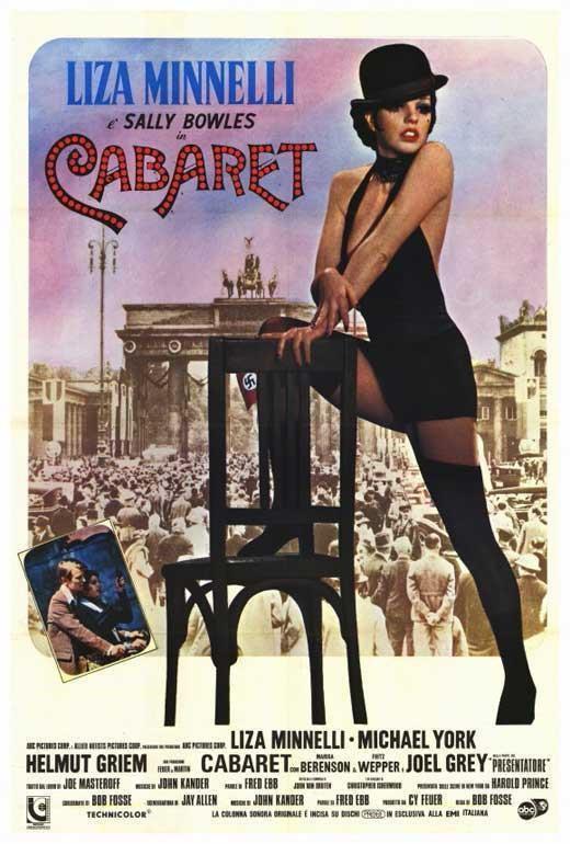 71790 Cabaret Liza Minnelli Joel Grey Michael York Framed Canvas