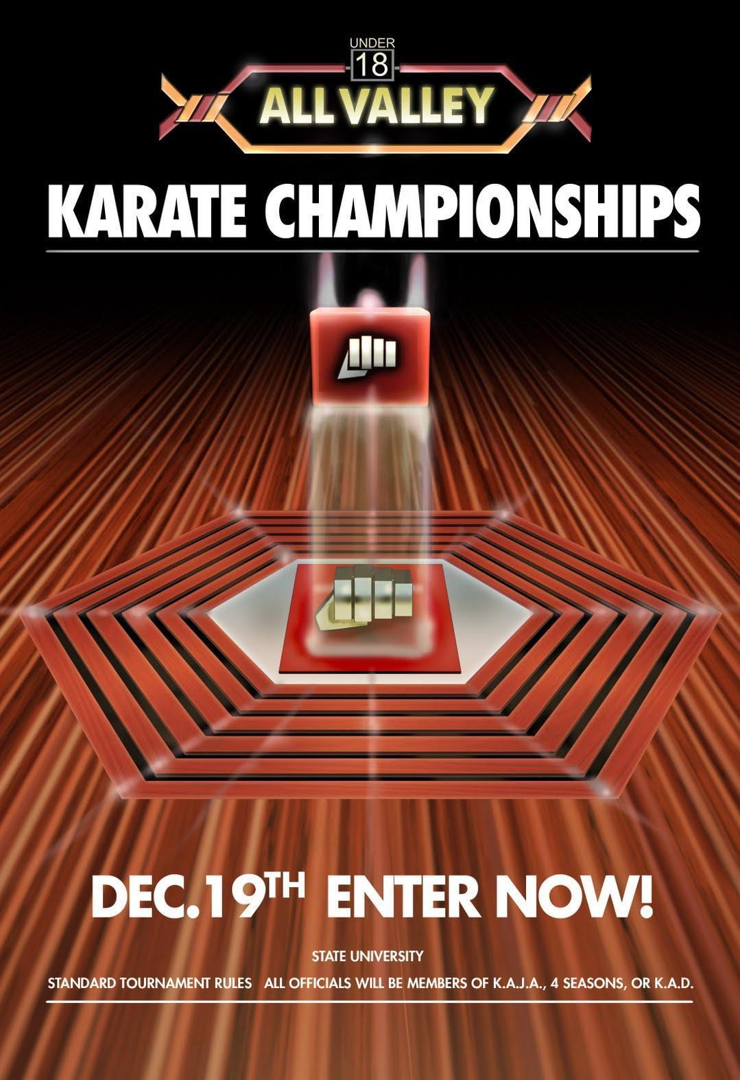 72192-Karate-Kid-Tournament-All-Valley-From-1984-Movie-FRAMED-CANVAS-PRINT-Toile