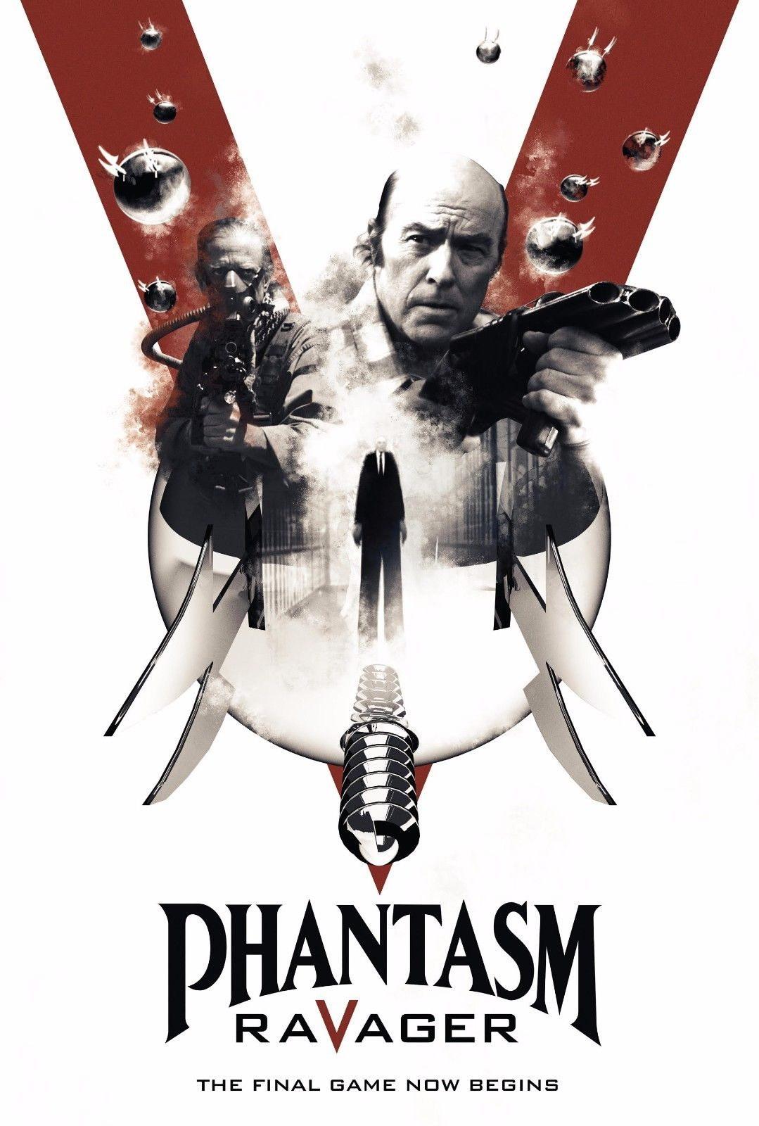 72552-PHANTASM-V-5-RAVAGER-Movie-The-Tall-Man-Horror-FRAMED-CANVAS-PRINT-Toile