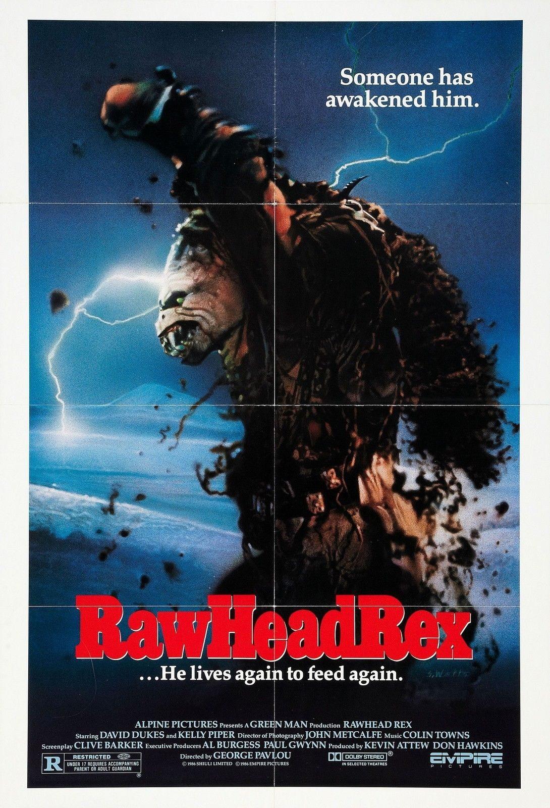 73068 RAWHEAD REX Movie 1986 Horror Wall Print Poster AU