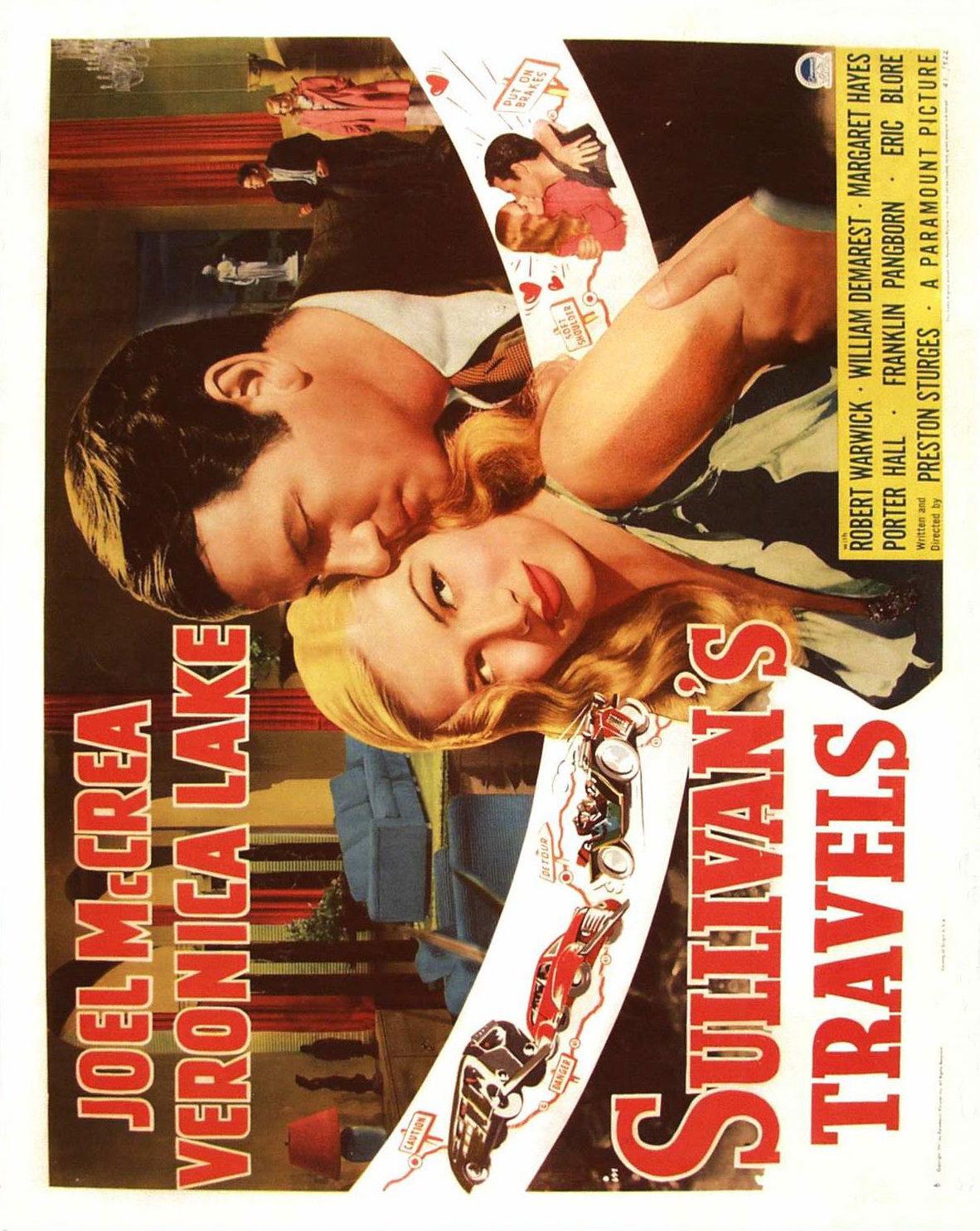 73354 SULLIVANS TRAVELS Movie 1941 RARE FRAMED CANVAS PRINT Toile Toile Toile 4e9f1e