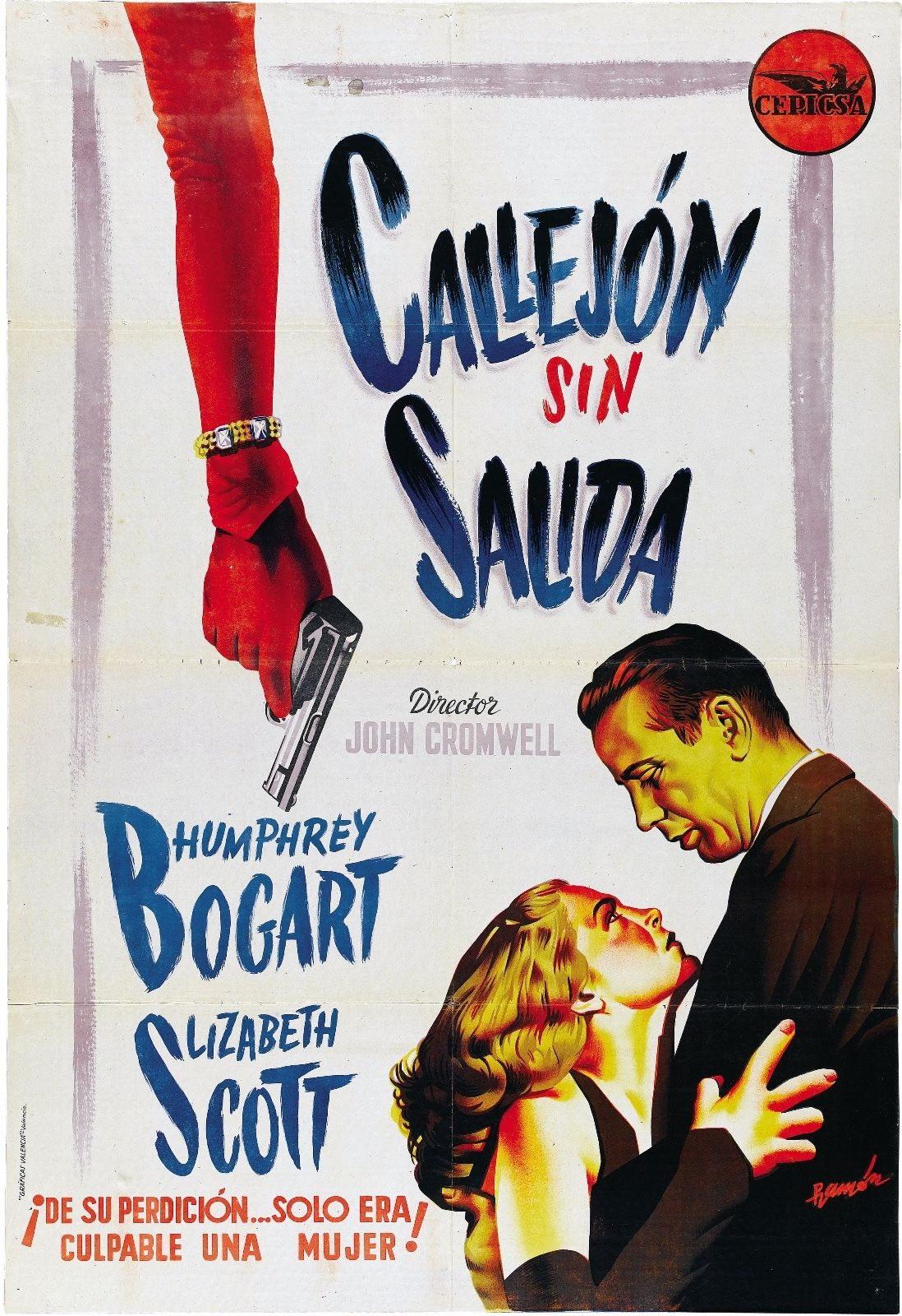 73529-Dead-Reckoning-Movie-1947-Thriller-Drama-FRAMED-CANVAS-PRINT-Toile