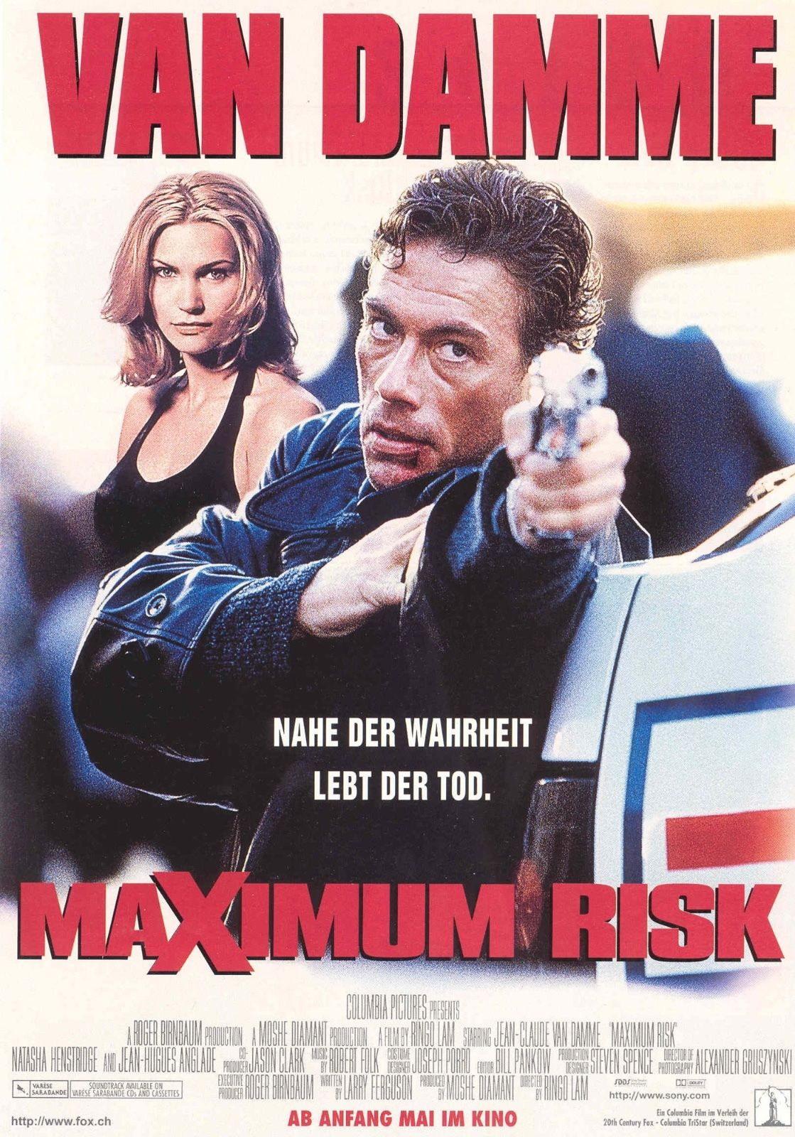 73900-Maximum-Risk-Movie-1996-Crime-Thriller-FRAMED-CANVAS-PRINT-Toile