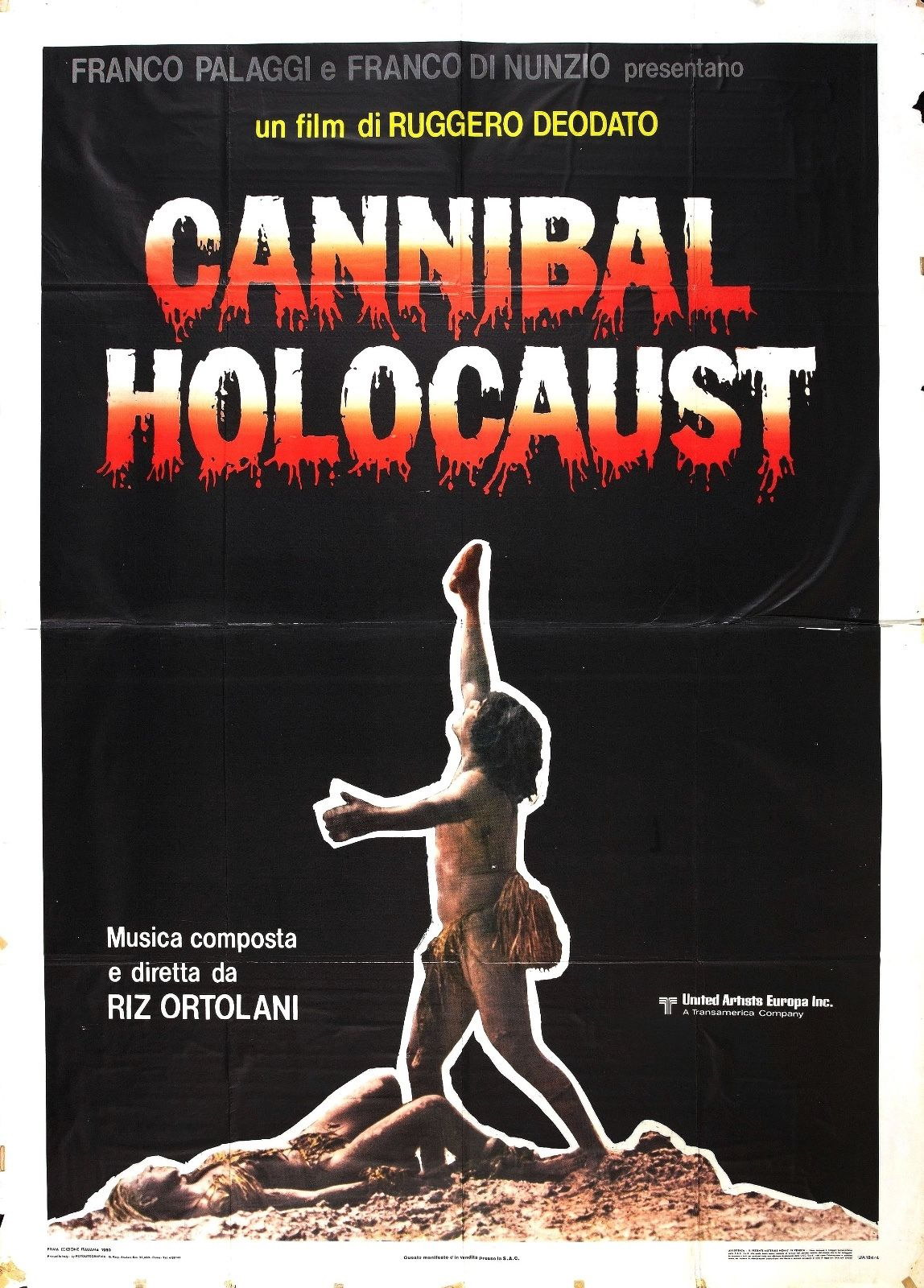 73996-Cannibal-Holocaust-Movie-1980-Horror-FRAMED-CANVAS-PRINT-Toile