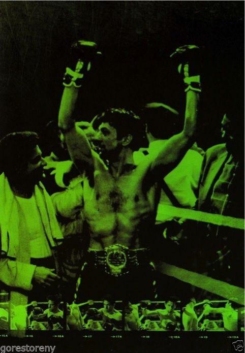 74053 RAGING BULL Boxing Fighter Reobert De Niro Wall Print Poster AU