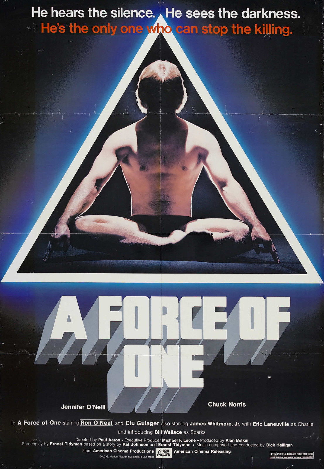 74112 A FORCE OF ONE Movie Rare Kung-Fu Wall Print Poster AU