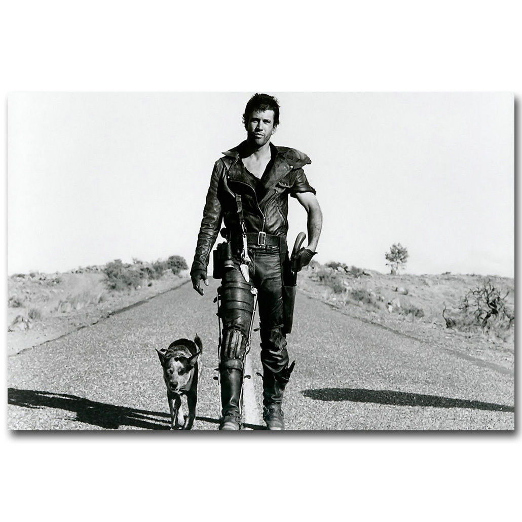 74651 Mad Max Man and The Dog Classic Movie Art Wall Print Poster AU