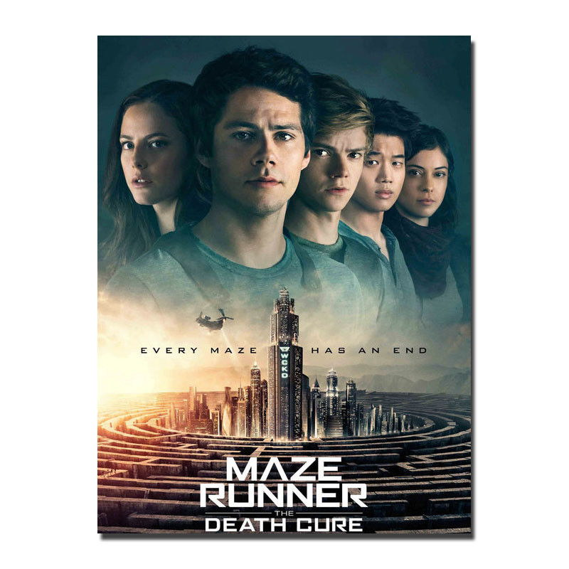 75609 The Maze Runner The Death Cure Art Dylan O'Brien Wall Print Poster AU