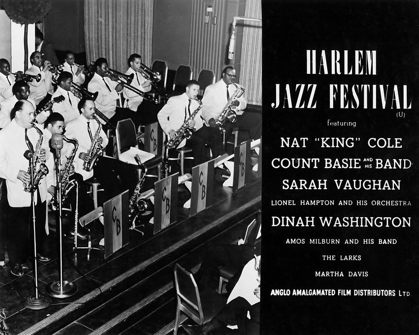 79250 Count Basie Photo Wall Print Poster AU