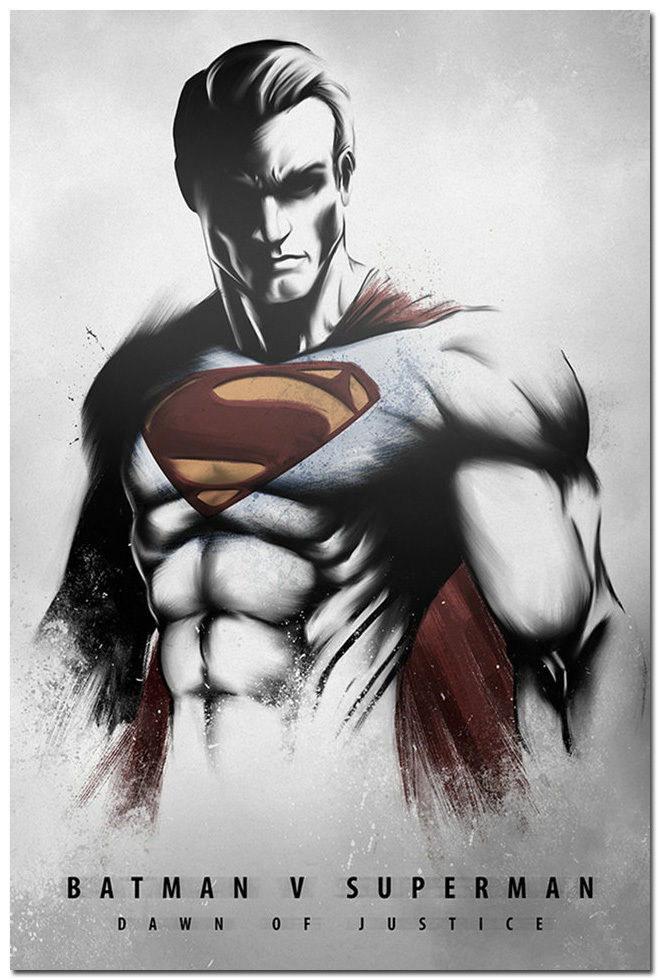 80453 Batman vs Superman Dawn Of Justice Wall Print Poster AU