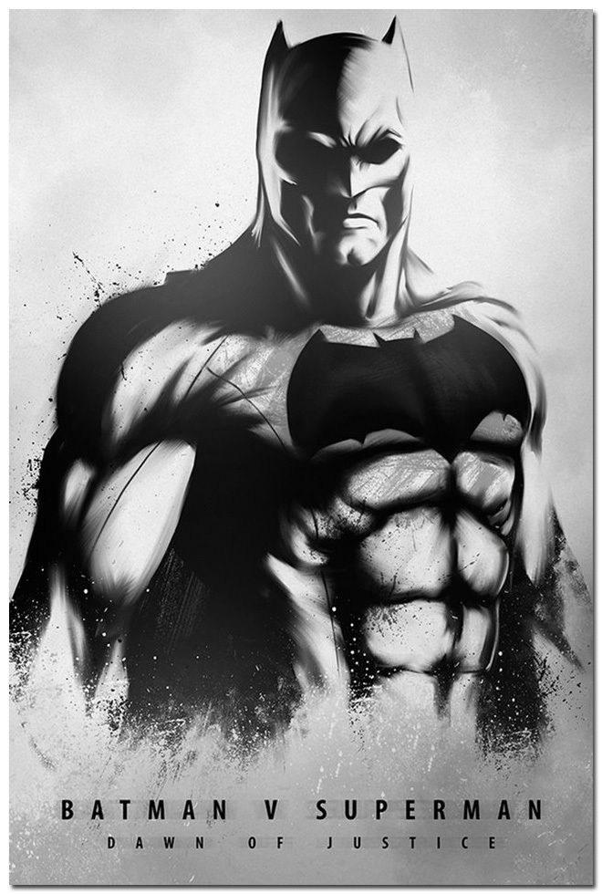 80491 Batman vs Superman Dawn Of Justice Wall Print Poster AU