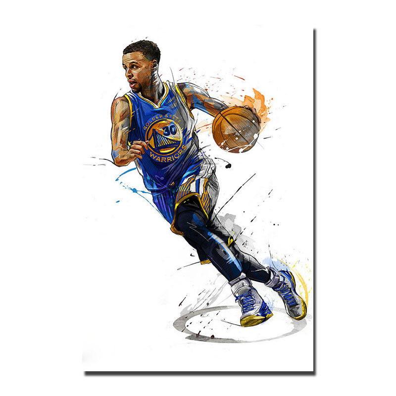 81338 Stephen Curry Basketball Star Wall Print Poster AU
