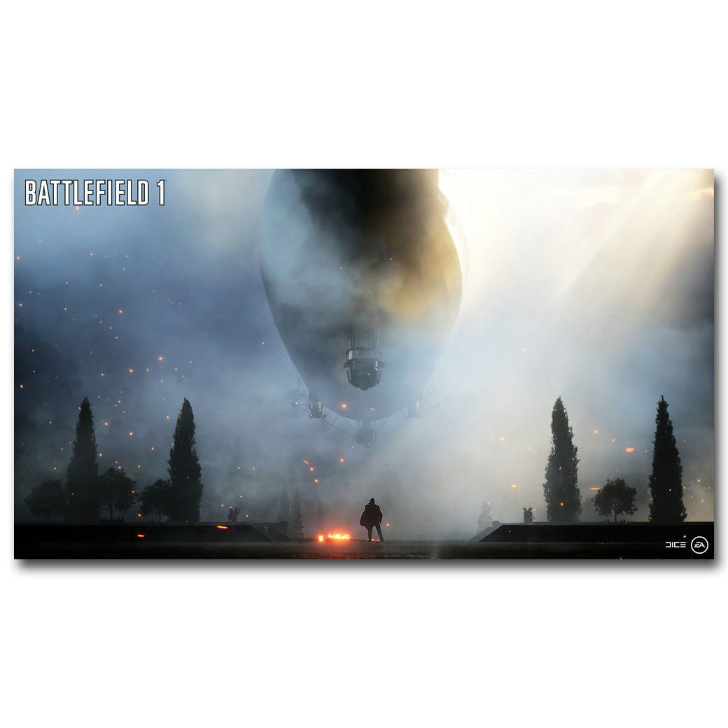83127 Battlefield 1 New Game Decor WALL PRINT POSTER CA