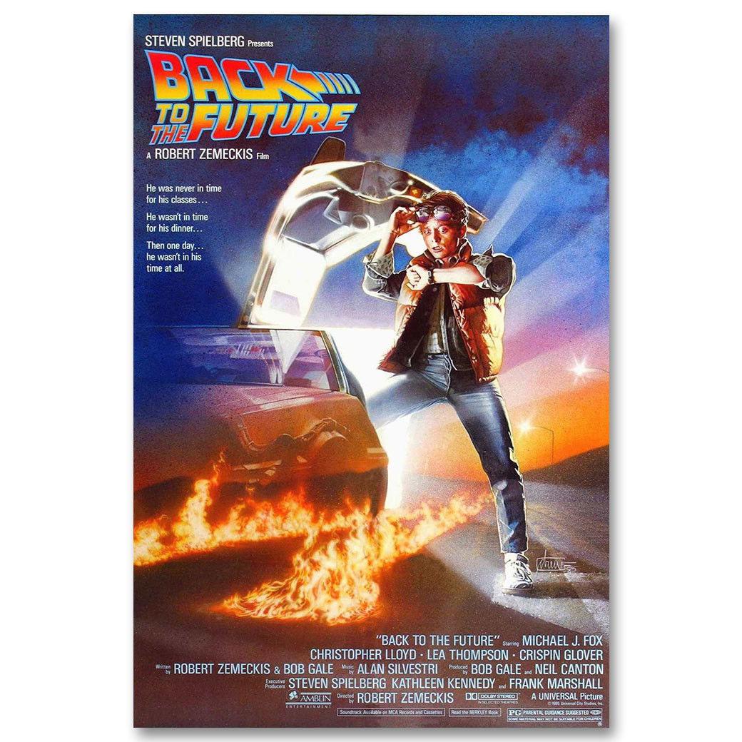 83201 RITORNO AL FUTURO 1 2 3 Film Classico Stampa Muro Decor Poster UK