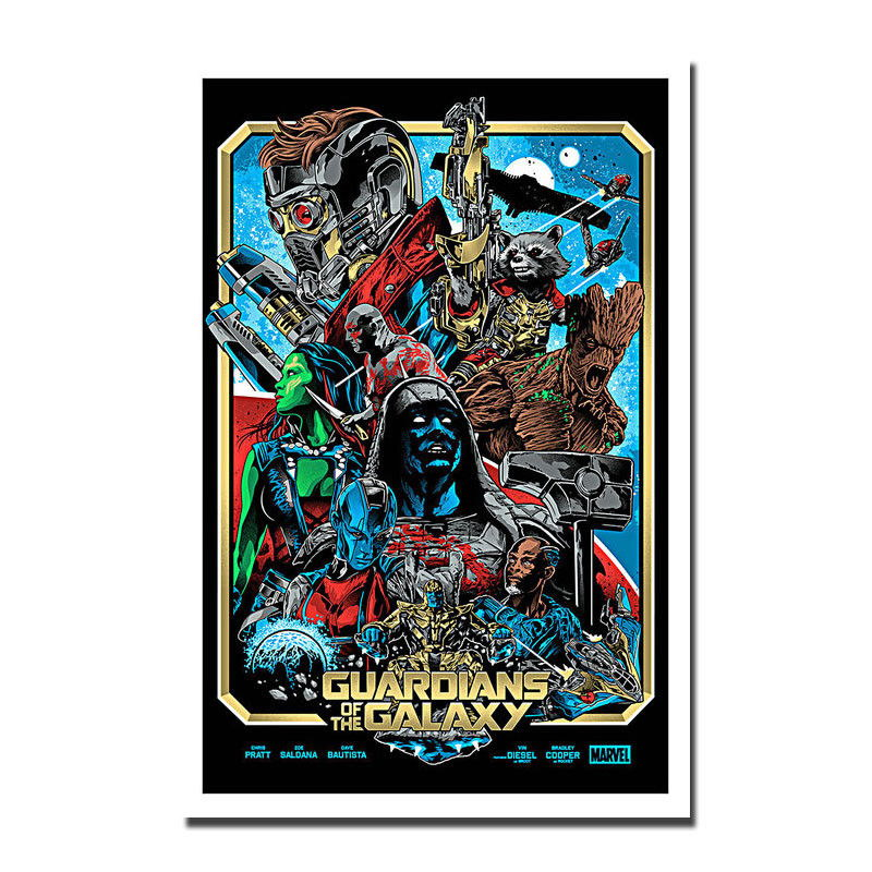 83261 Guardians of the Galaxy Vol 2 Movie Decor WALL PRINT POSTER AU