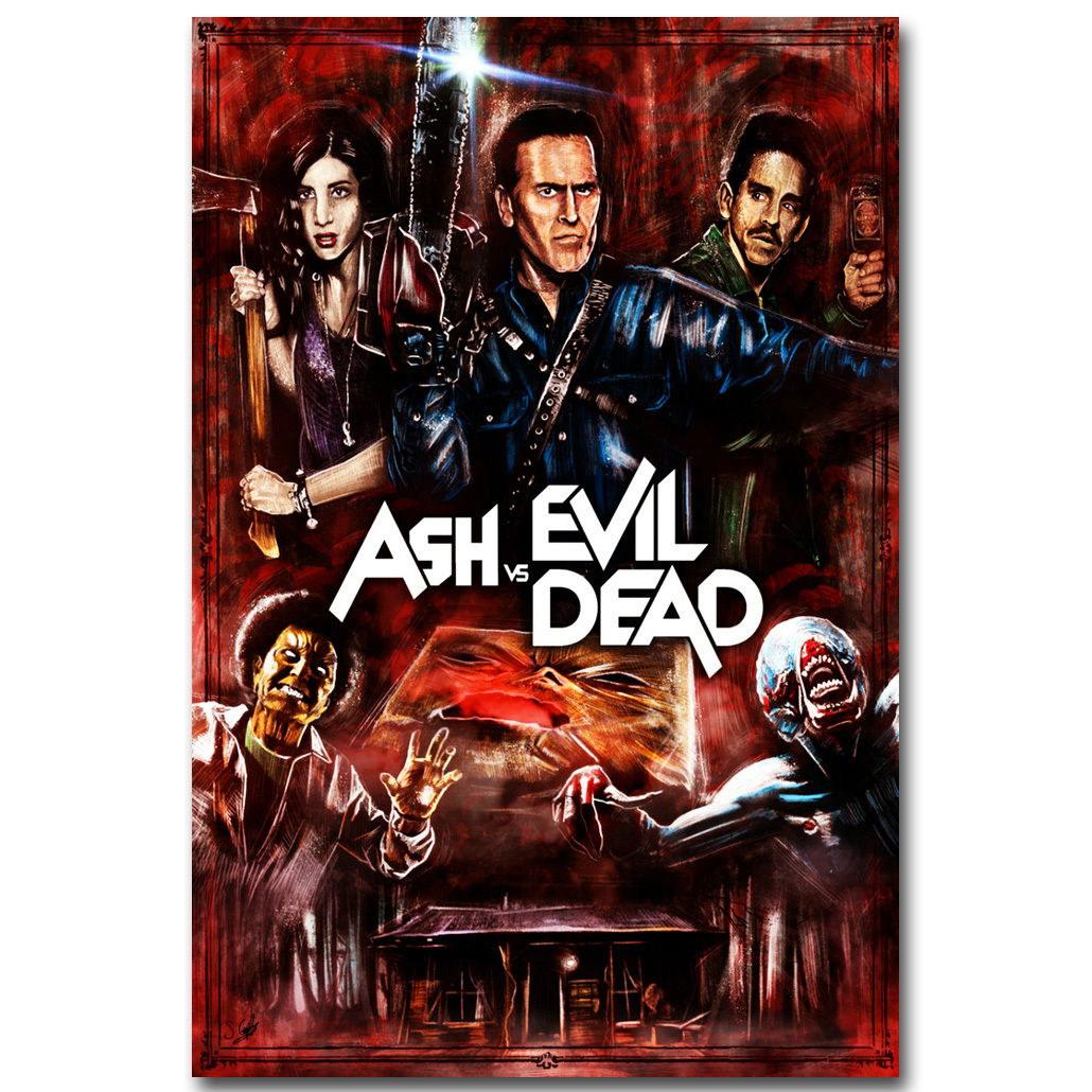 83264 Ash vs Evil Dead Movie Decor WALL PRINT POSTER AU
