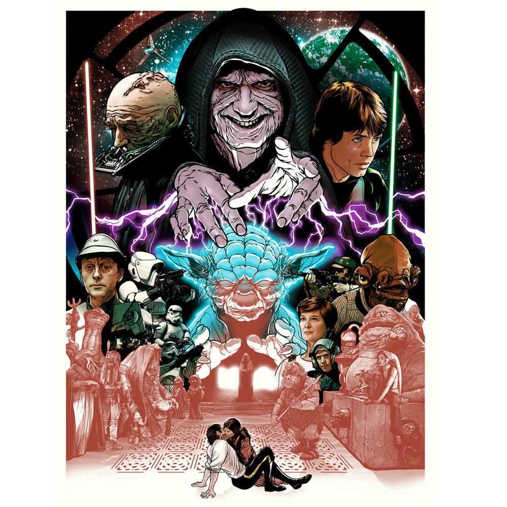 83570 Star Wars Movie Dh Vader Decor WALL PRINT POSTER AU