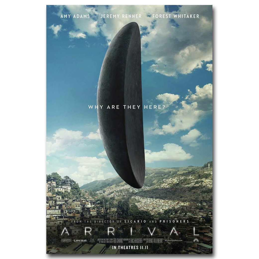 83587 Arrival New Movie Decor WALL PRINT POSTER CA