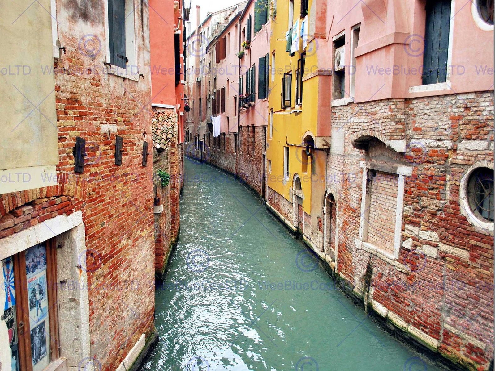 86860 CANAL VENICE BUILDINGS Decor WALL PRINT POSTER CA