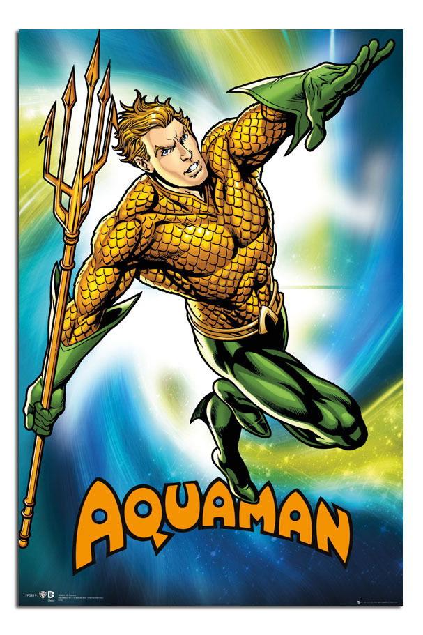 88345 Aquaman DC Comics Decor WALL PRINT POSTER CA