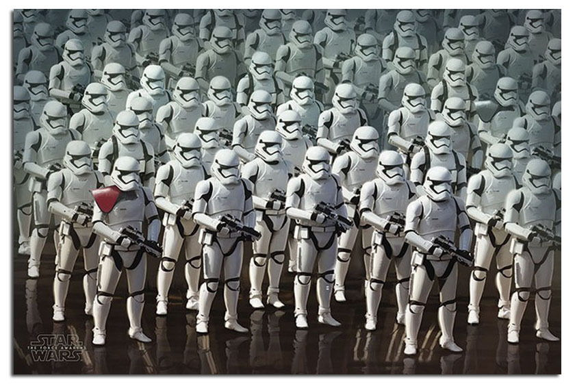88399 Star Wars 7 The Force Awakens Stormtrooper Army Decor WALL PRINT POSTER CA