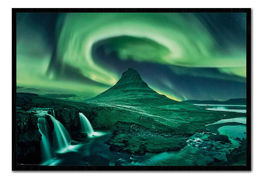 88907 Aurora Borealis Northern Lights Decor WALL PRINT POSTER CA