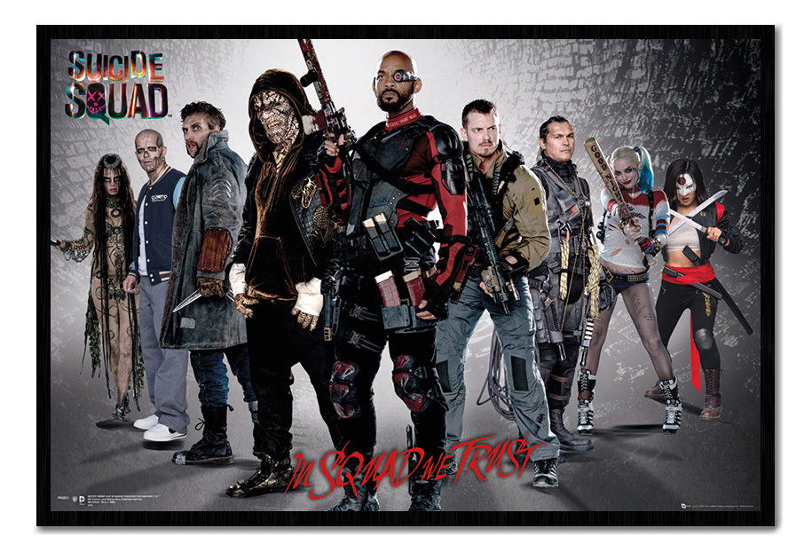 89249 Suicide Squad Group Magnetic Decor WALL PRINT POSTER CA