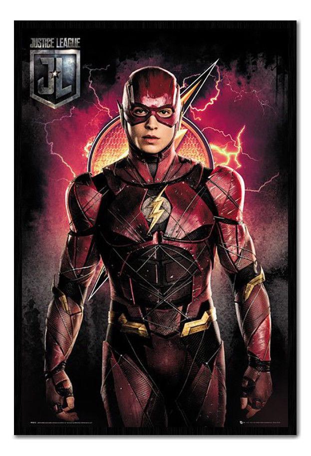 89913 Justice League Flash Solo Decor WALL PRINT POSTER CA