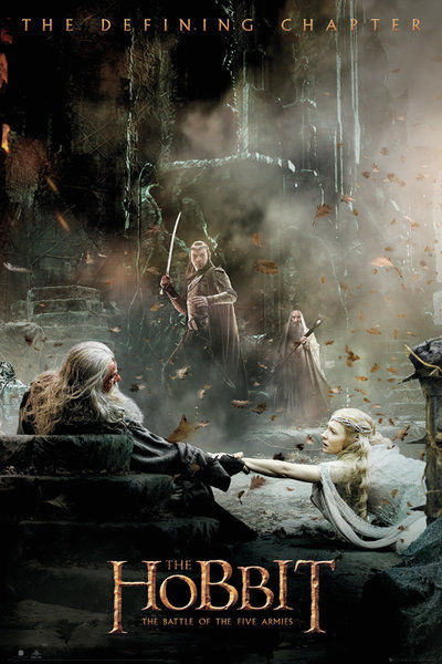91445 THE HOBBIT 3 THE OF FIVE ARMIES AFTERMATH Decor WALL PRINT POSTER AU