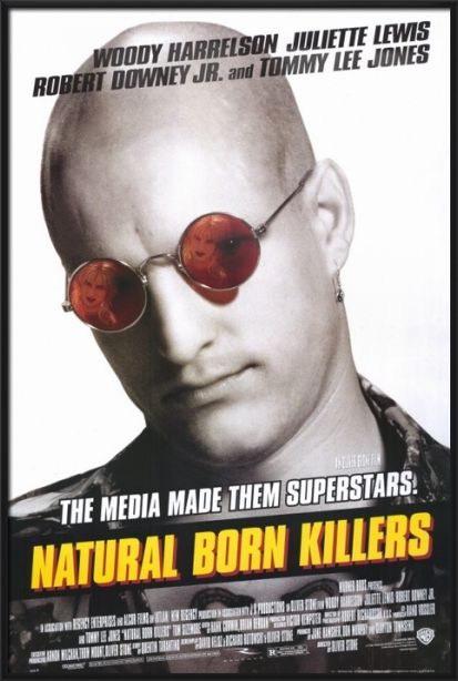 92017 NATURAL BORN KILLERS MOVIE Decor WALL PRINT POSTER AU