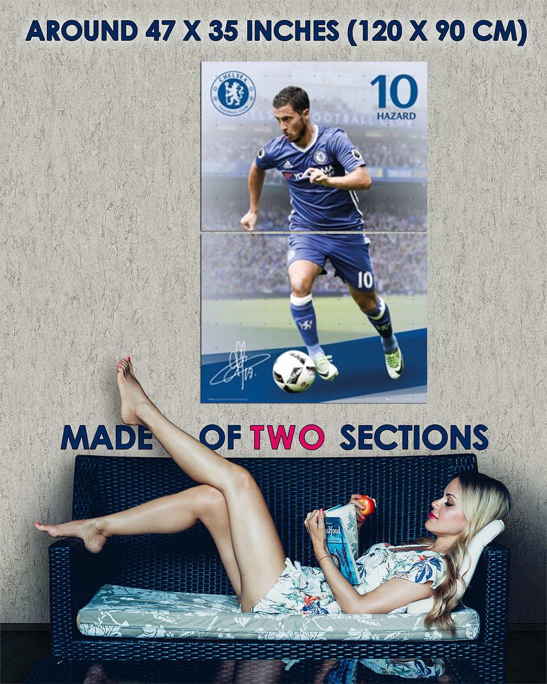 102049-Chelsea-FC-Eden-Hazard-Soccer-Football-Sports-Decor-WALL-PRINT-POSTER-AU