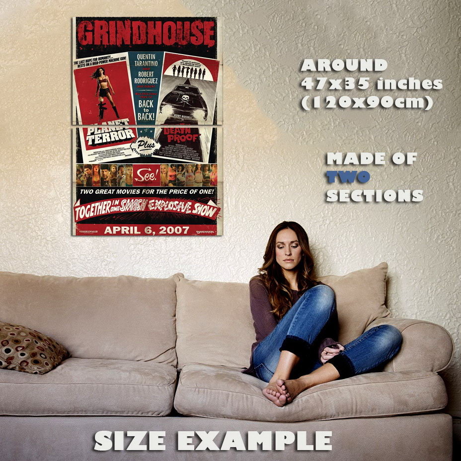 138719-GRINDHOUSE-DEATH-PROOF-Wall-Print-Poster-Affiche