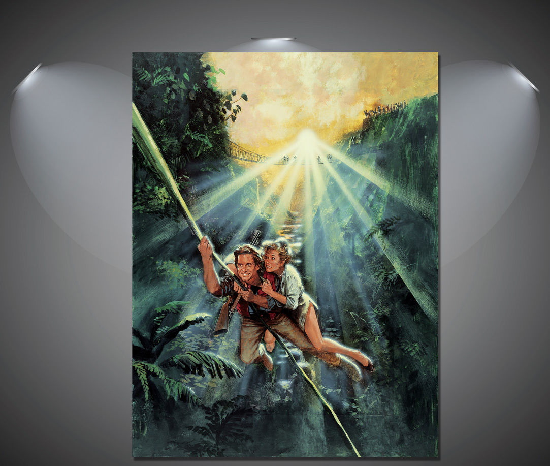 147245-Romancing-The-Stone-Vintage-Movie-Wall-Print-Poster-UK