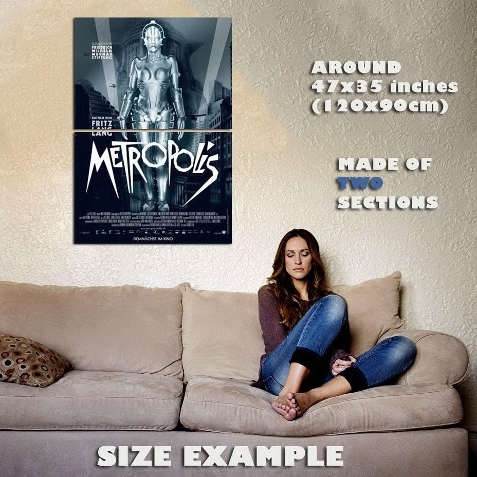 147377 Metropolis Movie Wall Wall Wall Print Poster CA 30b24d