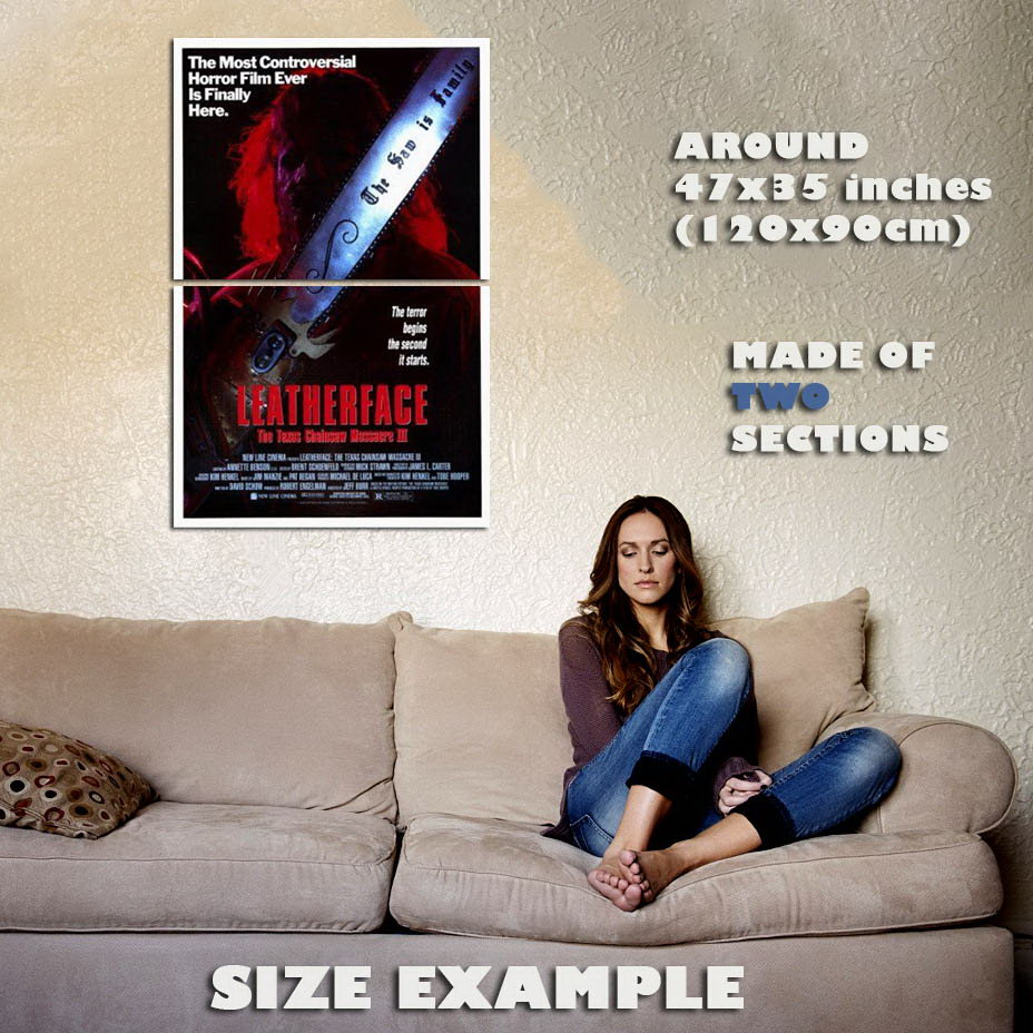 148876-Texas-Chainsaw-Massacre-Leatherface-Wall-Print-Poster-Affiche