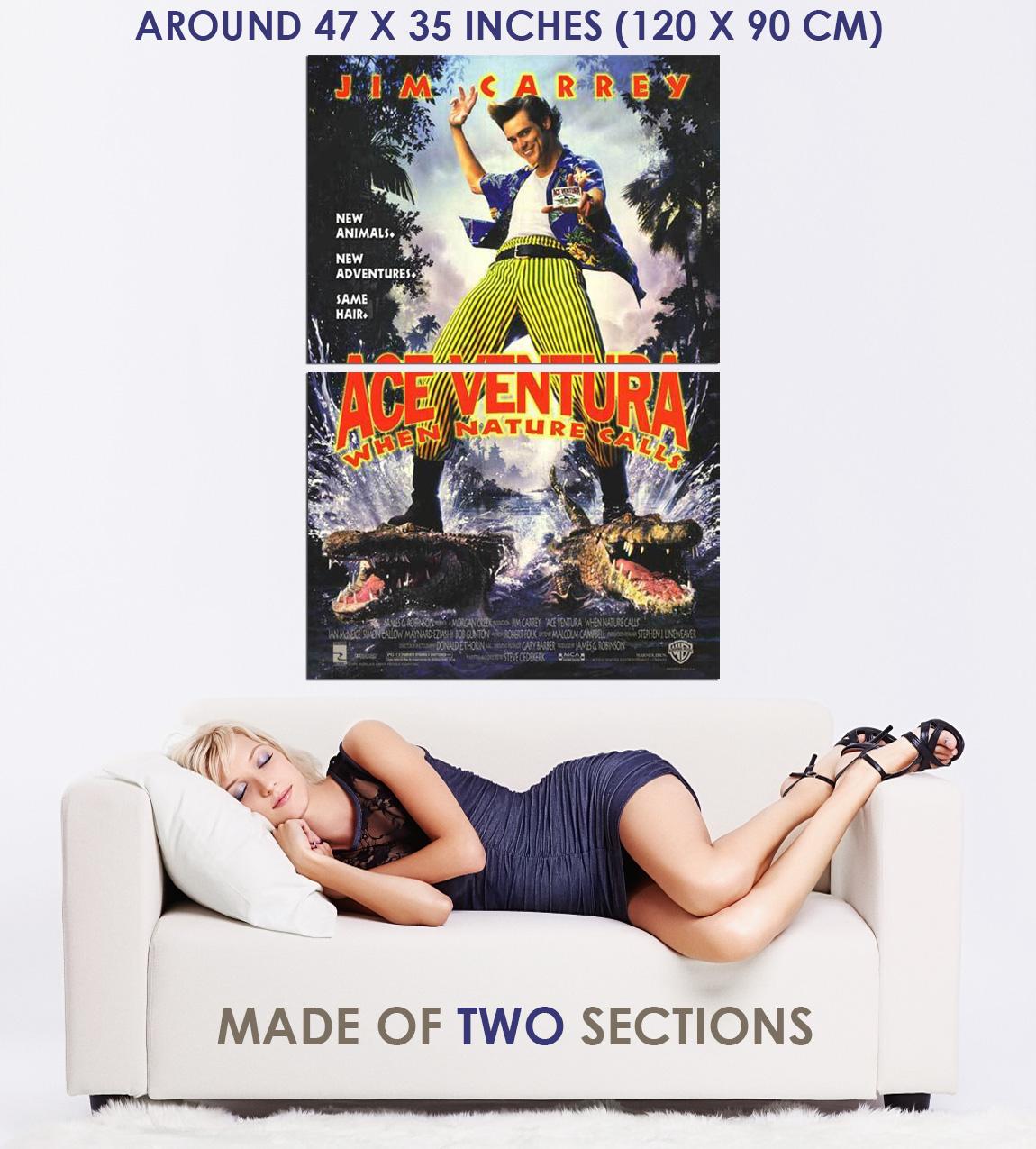 237420-ACE-VENTURA-WHEN-NATURE-CALLS-1995-Movie-WALL-PRINT-POSTER-US miniature 5