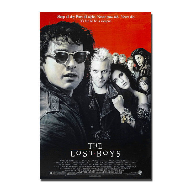 136842-The-Lost-Boys-1987-Movie-Wall-Print-Poster-Affiche