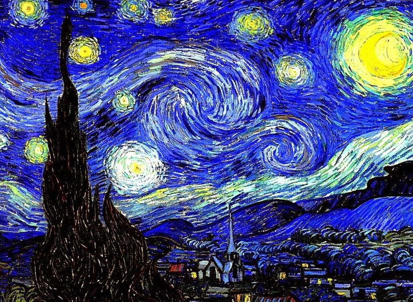 140660-Vincent-Van-Gogh-Starry-Night-Pop-Wall-Print-Poster-UK