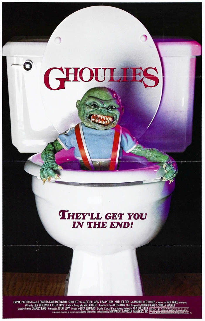 141308-GHOULIES-Horror-Sci-Fi-Wall-Print-Poster-Affiche