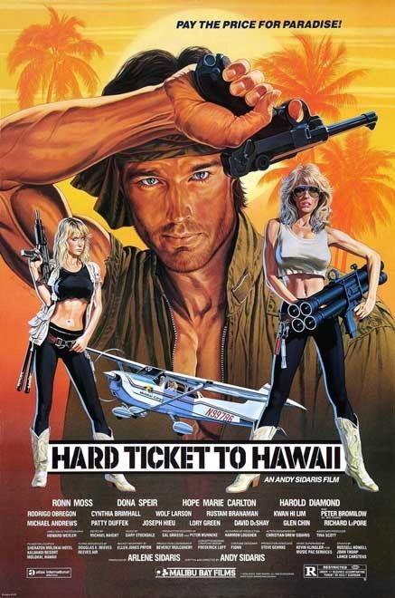 142176-HARD-TICKET-TO-HAWAII-XXX-Explotation-Vintag-Wall-Print-Poster-Affiche