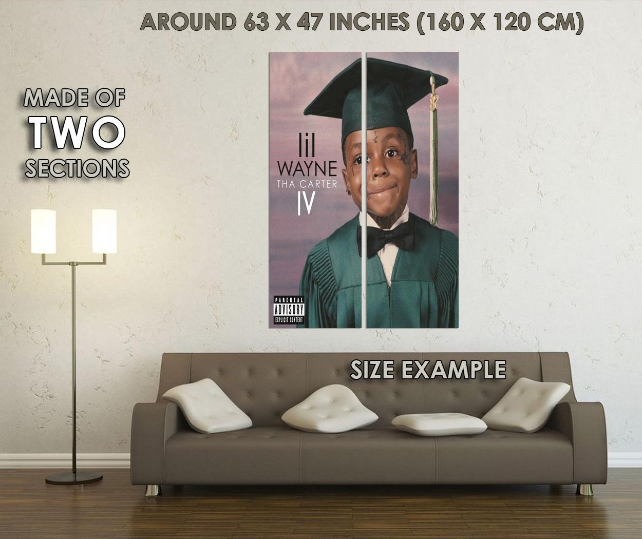 Indexbild 6 - 280767 Lil Wayne Tha Carter IV Hip Hop Rap Music Album POSTER PRINT DE