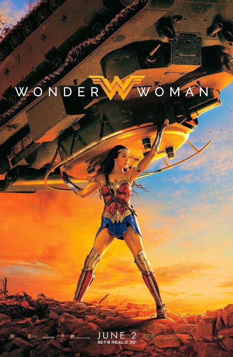 100069 Wonder Woman 2017 Movie Decor WALL PRINT POSTER AU