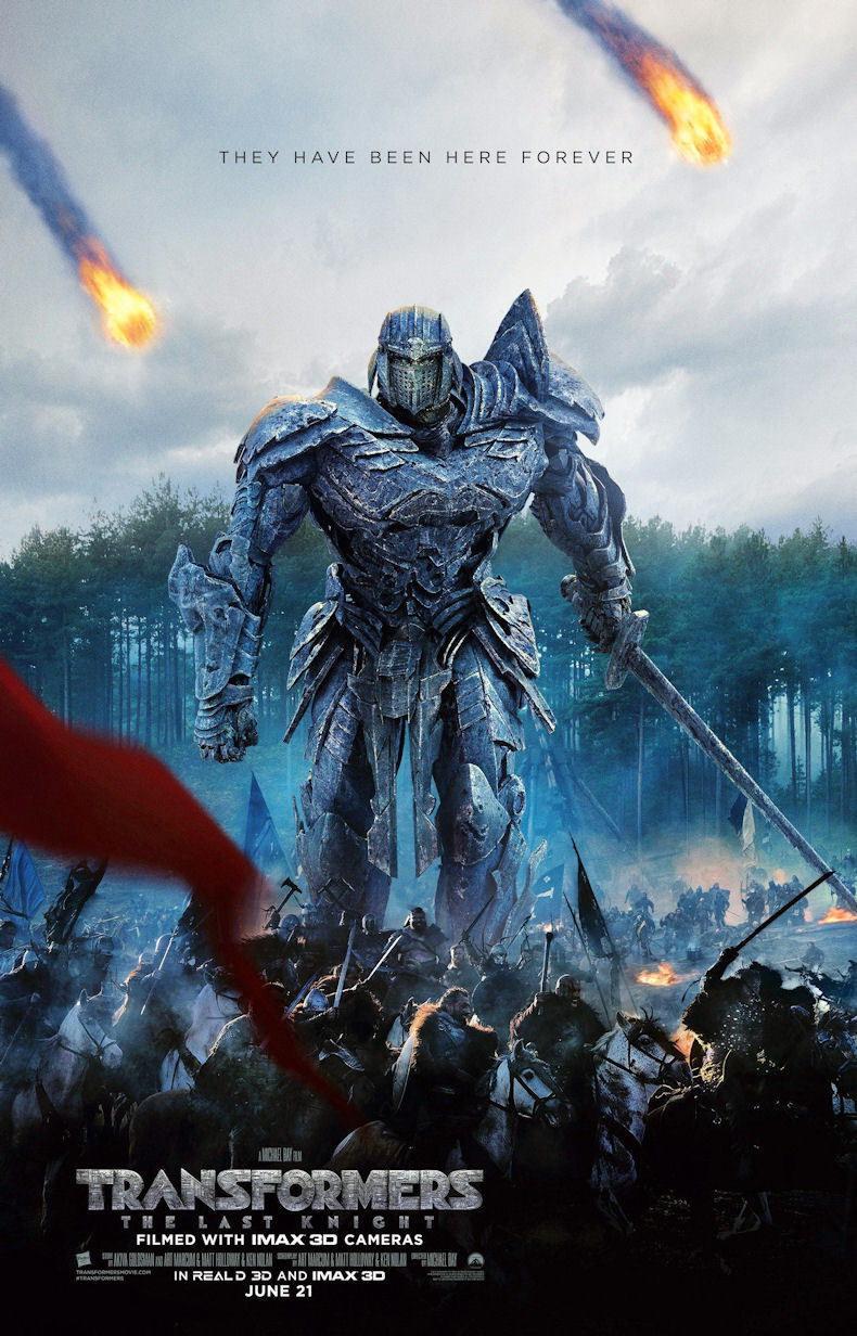 100313 Transformers 5 The Last Knight Movie Decor WALL PRINT POSTER AU
