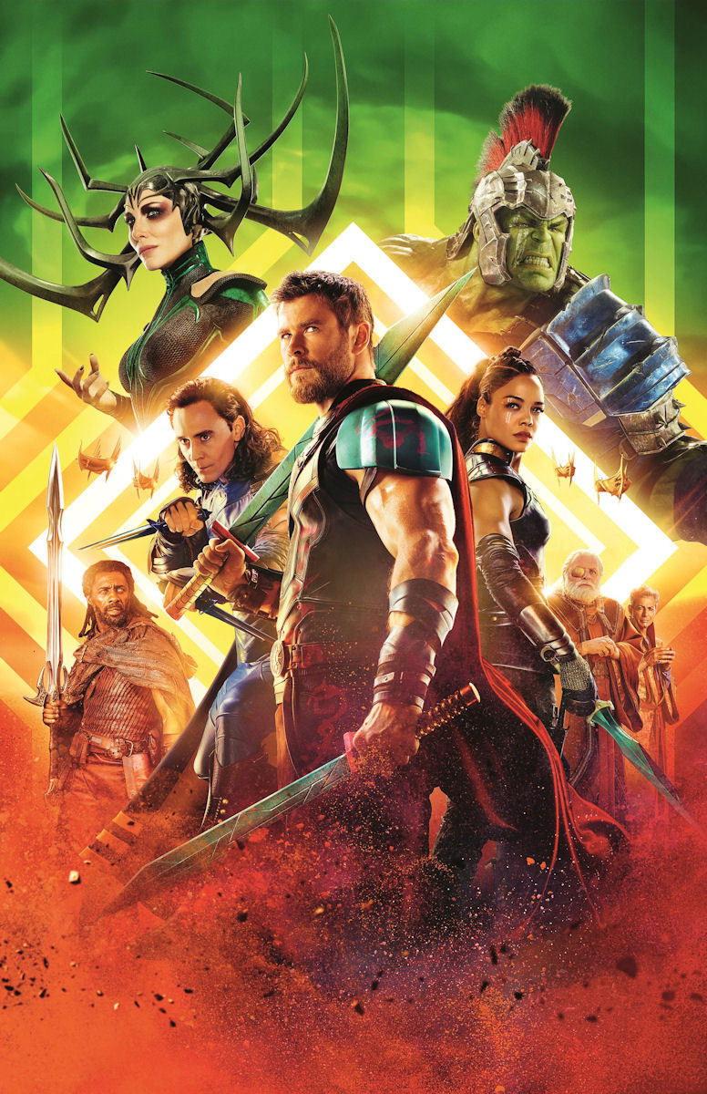 100572 Thor Ragnarok Movie Collector Decor WALL PRINT POSTER AU