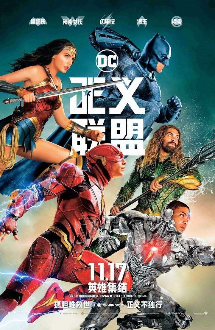 100658 Justice League Movie Collector Decor WALL PRINT POSTER AU
